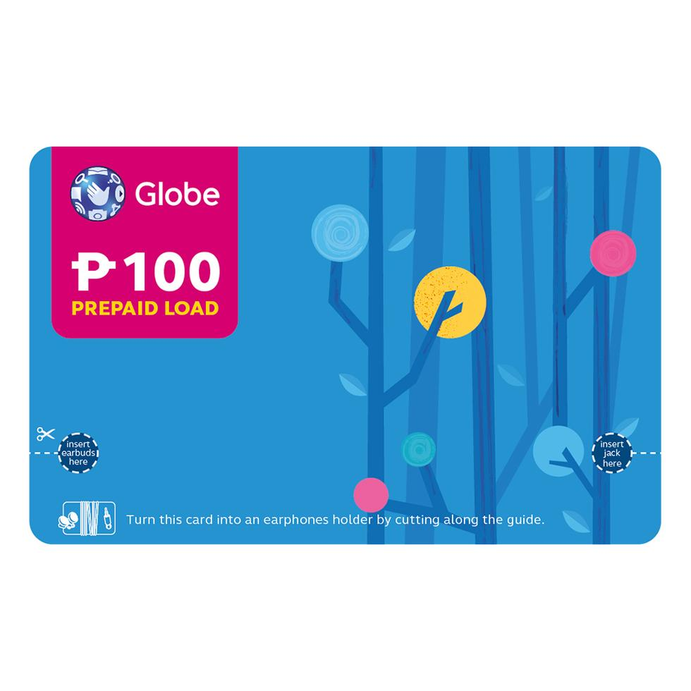GLOBE CALLCARD P100