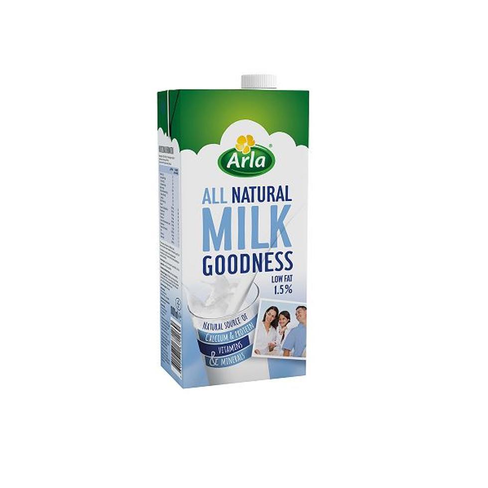 ARLA MILK GOODNESS LOW FAT 1L