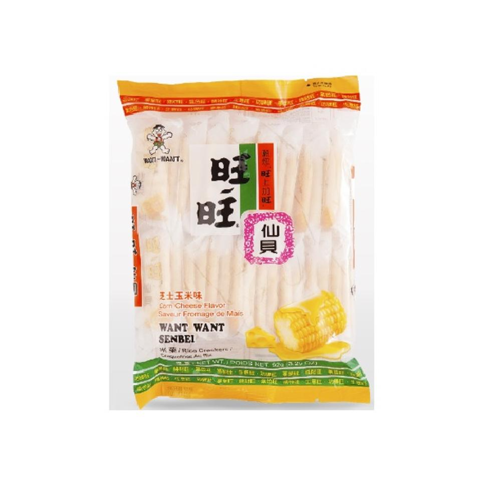WANT WANT CORN CHEESE 56G