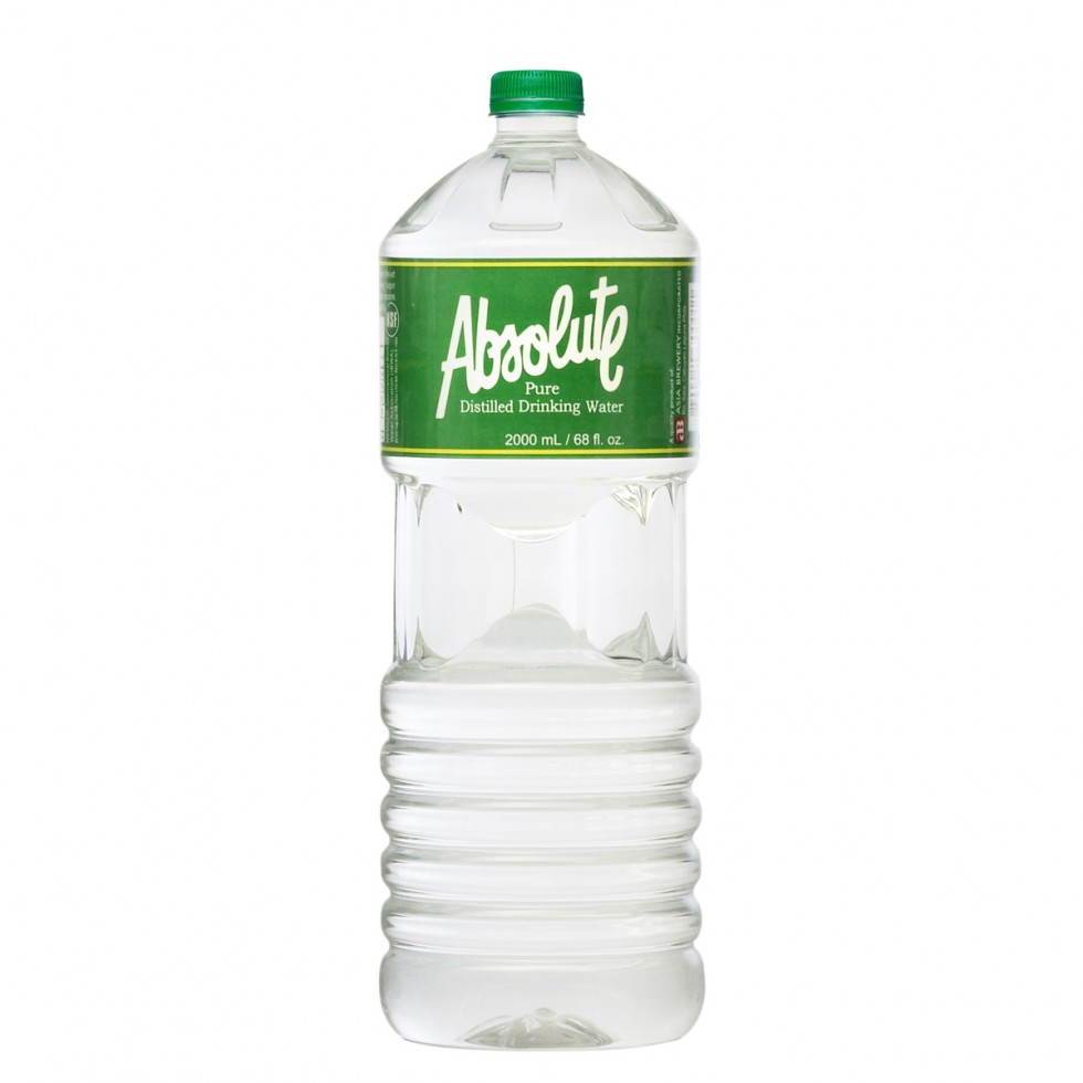 ABSOLUTE DISTILLED WATER 2L