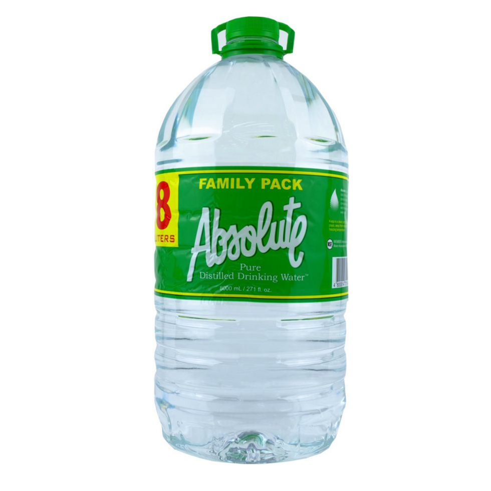 ABSOLUTE DISTILLED WATER  8L