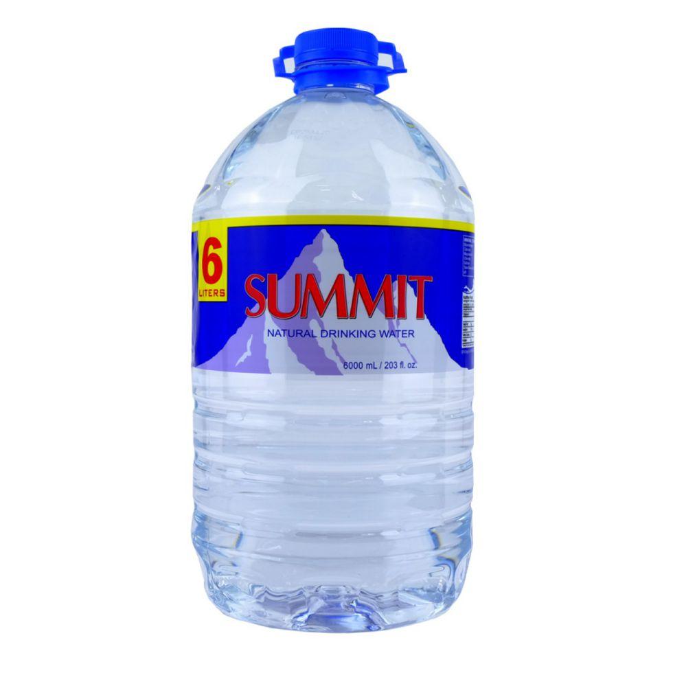 SUMMIT NAT SPRING WATER 6L
