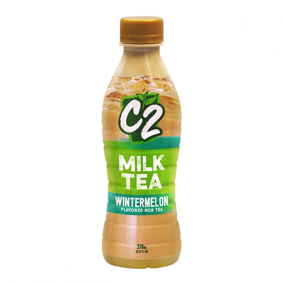 C2 WINTERMELON MILK TEA 270ML