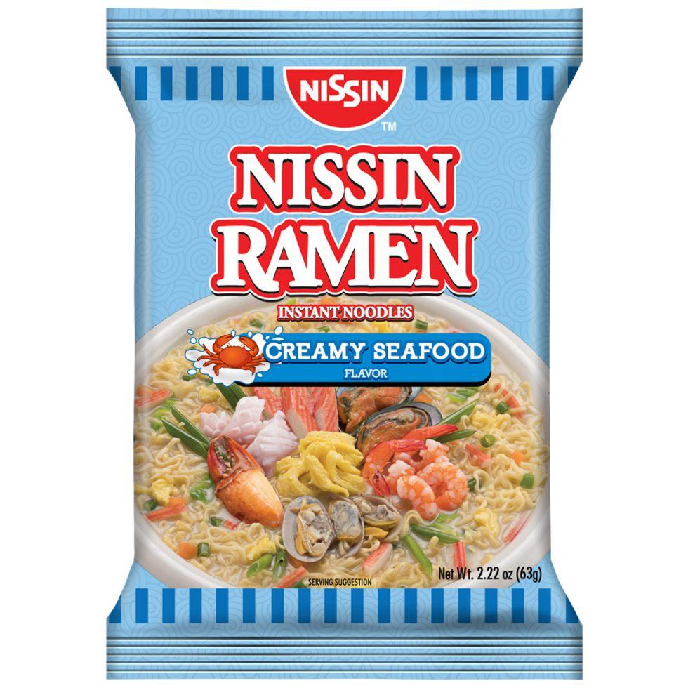 NISSIN RAMEN CREAMY SEAFOOD63G