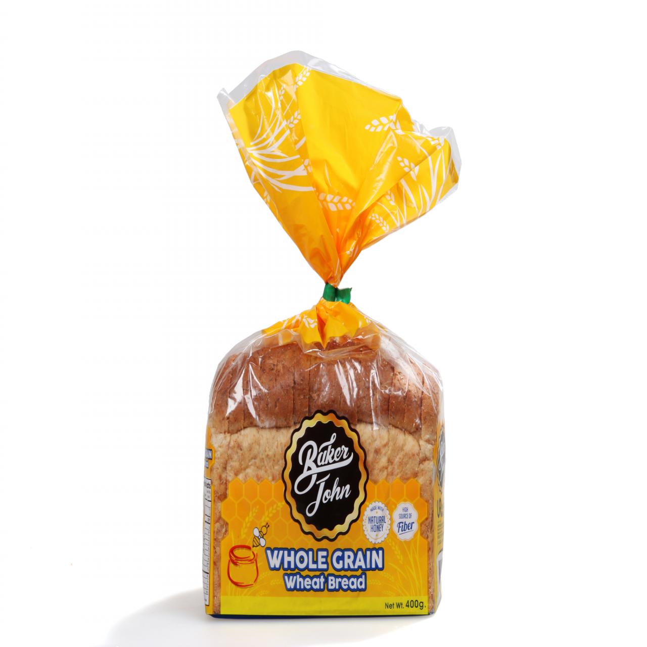 BAKERJOHN WHL/G WHEAT BREAD400