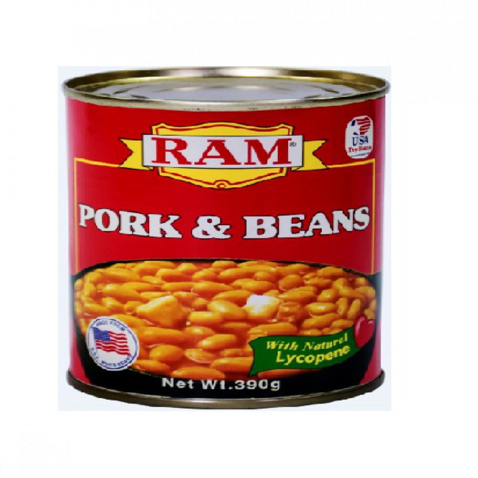 RAM PORK & BEANS 390G