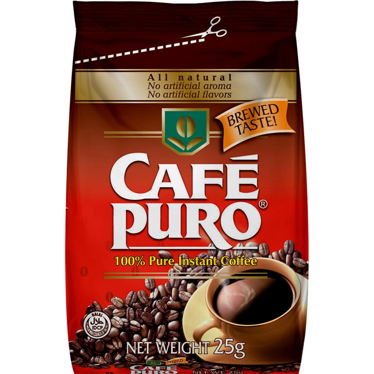 CAFE PURO ECONO PACK 25G