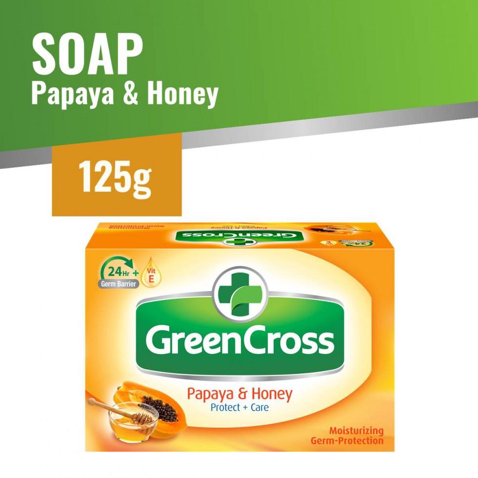 GCROSS SOAP PAPAYA&HONEY 125G