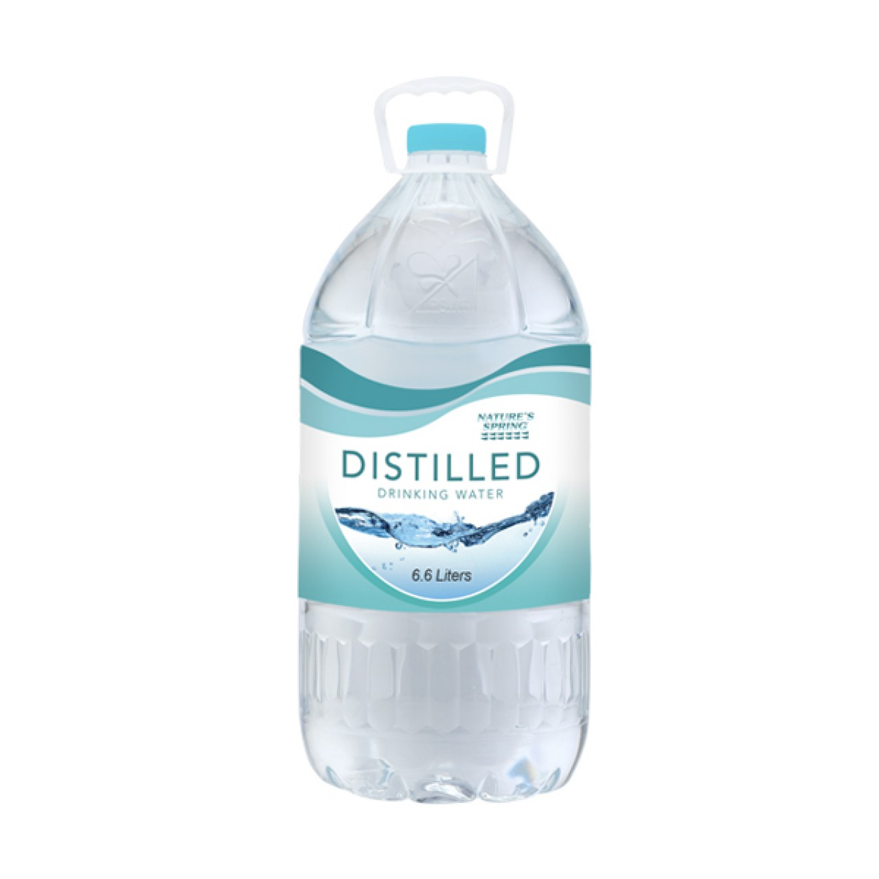 NATURE SPRING DIST.WATER 6L