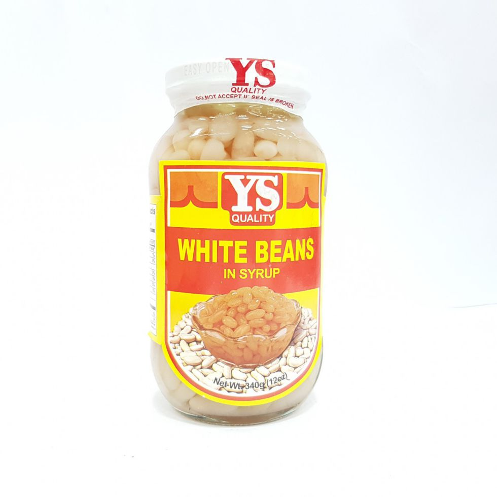 YS SWEET WHITE BEANS 340G
