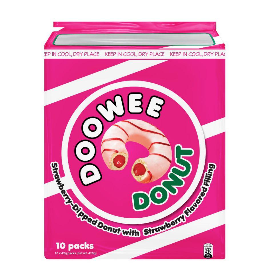 DOWEE DONUT STRAWBERRY 40GX10S