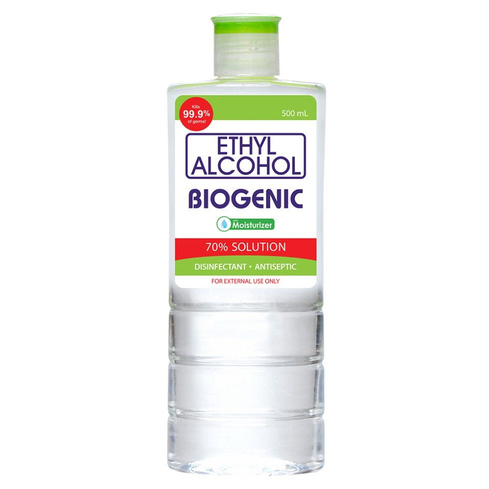 BIOGENIC 70% ISO ALCOHOL 500ML