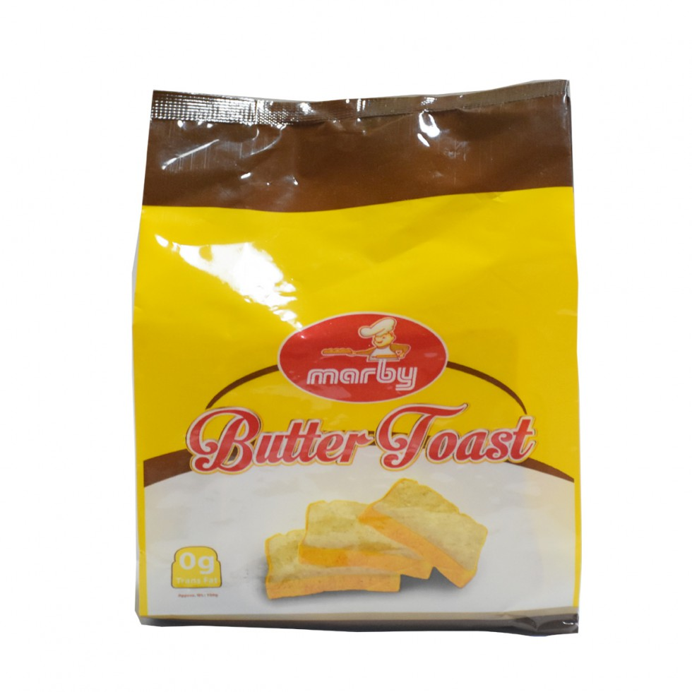MARBY BUTTER TOAST 100G