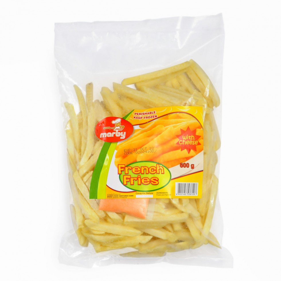 MARBY FRENCH FRIES WITH CHEESE