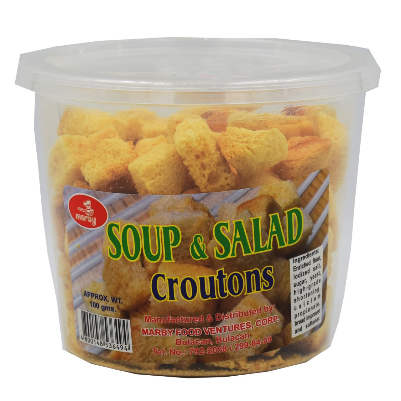 MARBY CROUTONS 100G