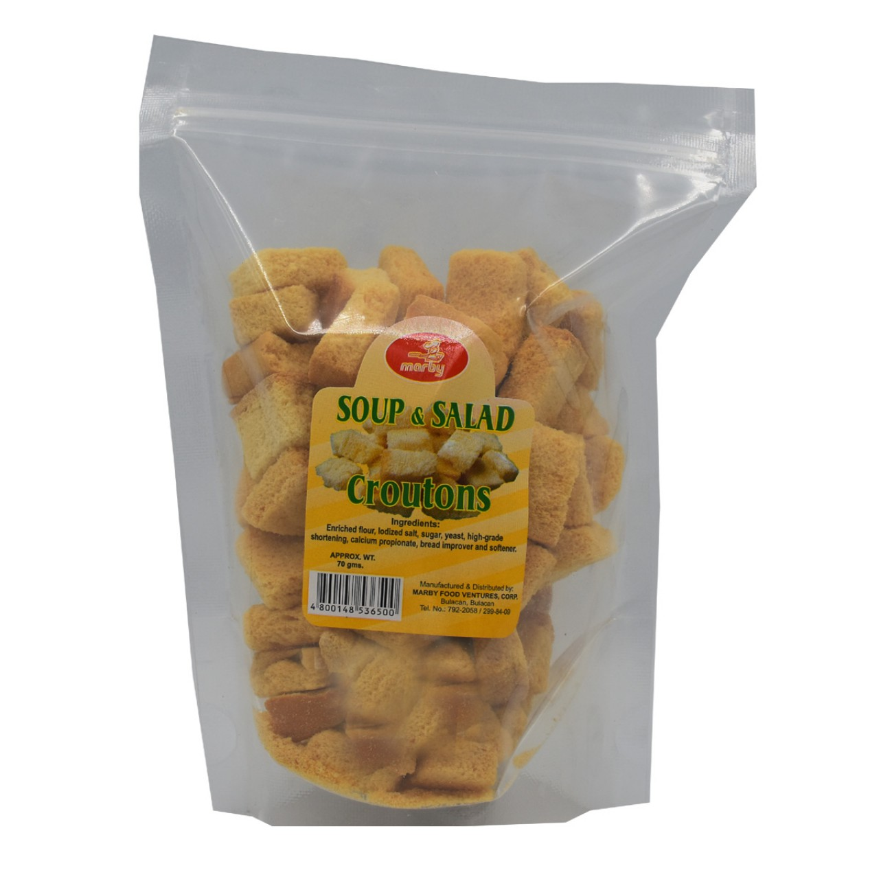 MARBY CROUTONS 70G