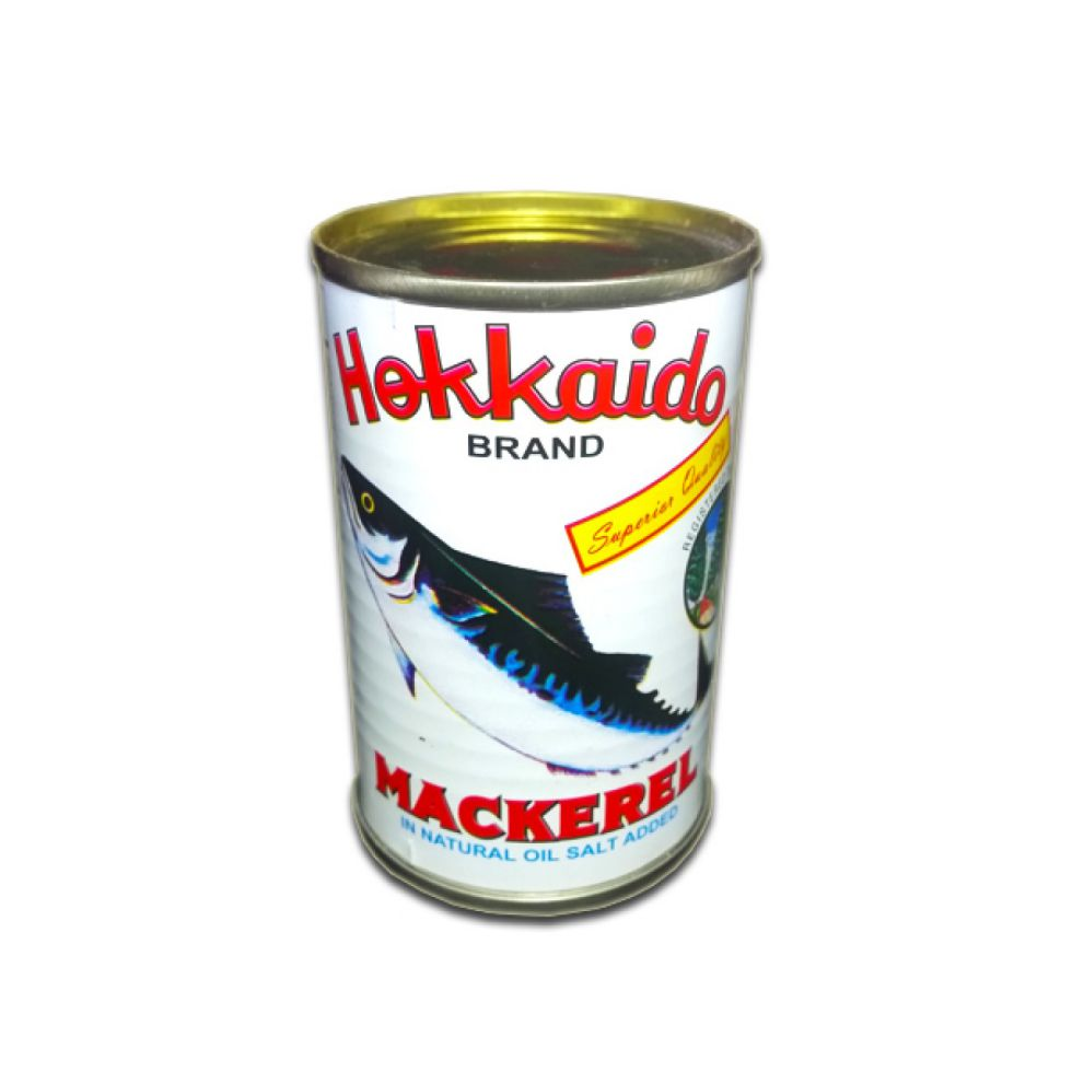 HOKKAIDO MACKEREL NAT OIL 155G