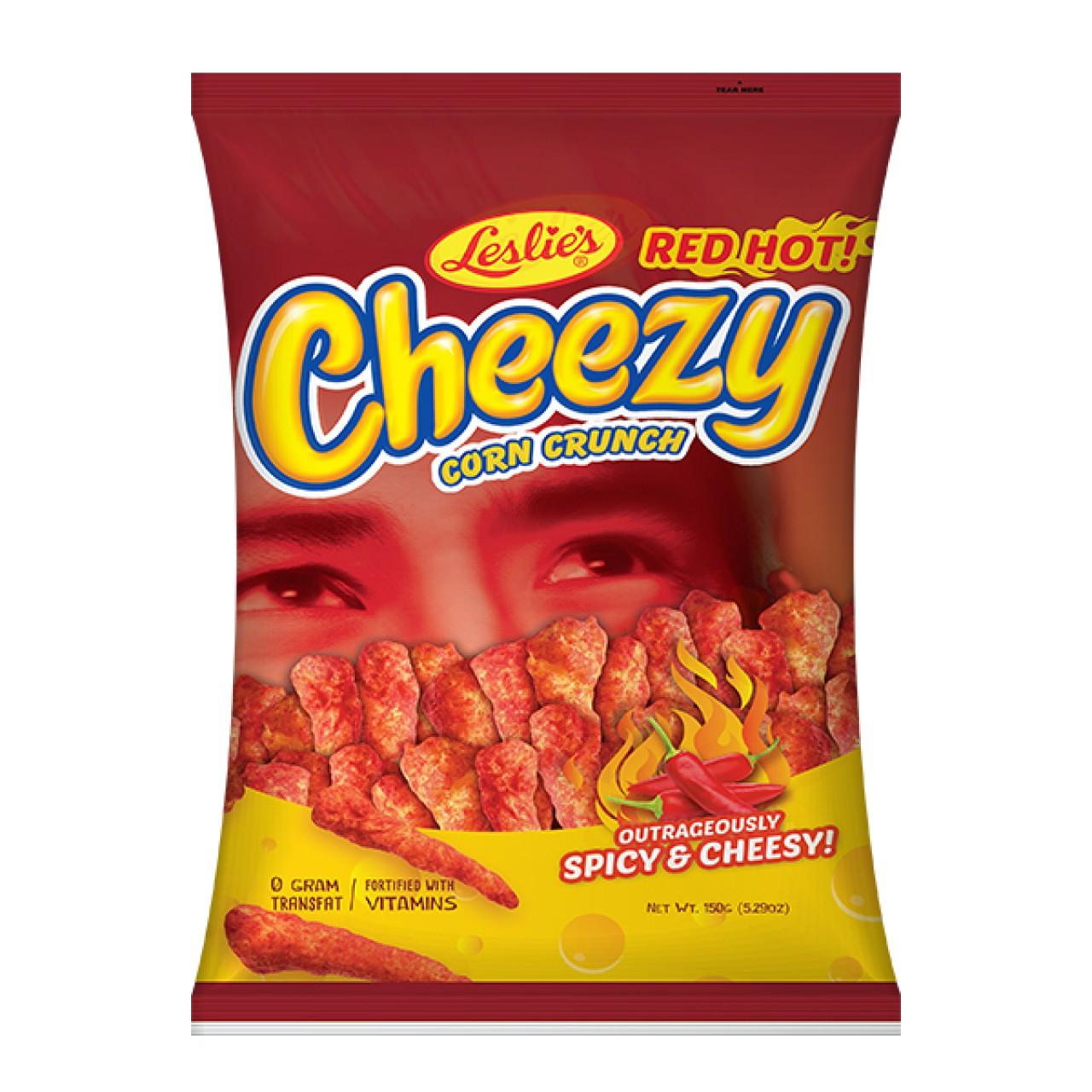 CHEEZY RED HOT SPCY&CHEESY150G