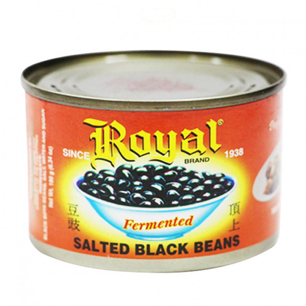 ROYAL BLACK BEANS 180G