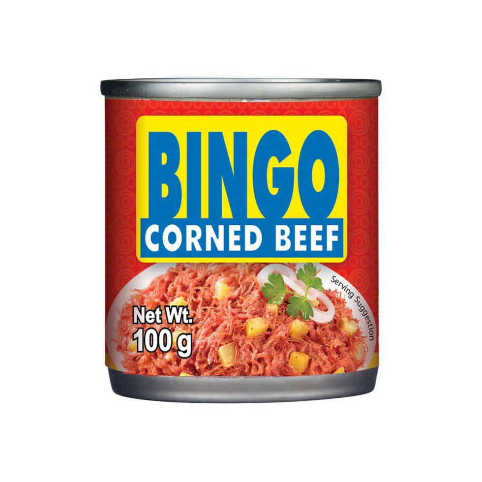 CDO BINGO CORNED BEEF 100G