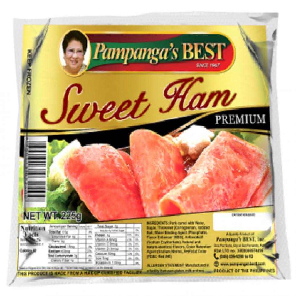 PAMPANGA BEST SWEET HAM 225G