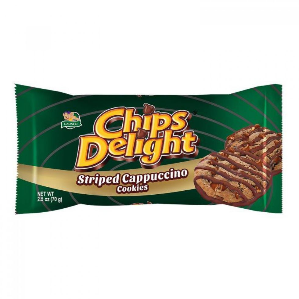 CHIPS DELIGHT CAPPUCCINO 70G