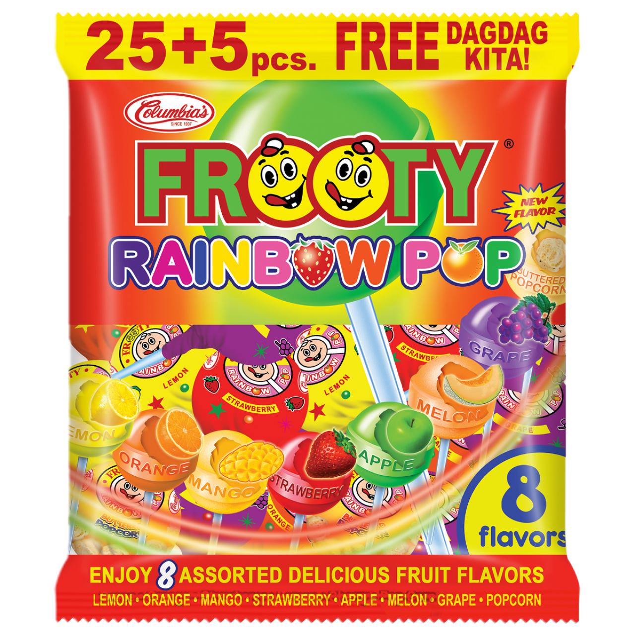 FROOTY RAINBOW POP 25S