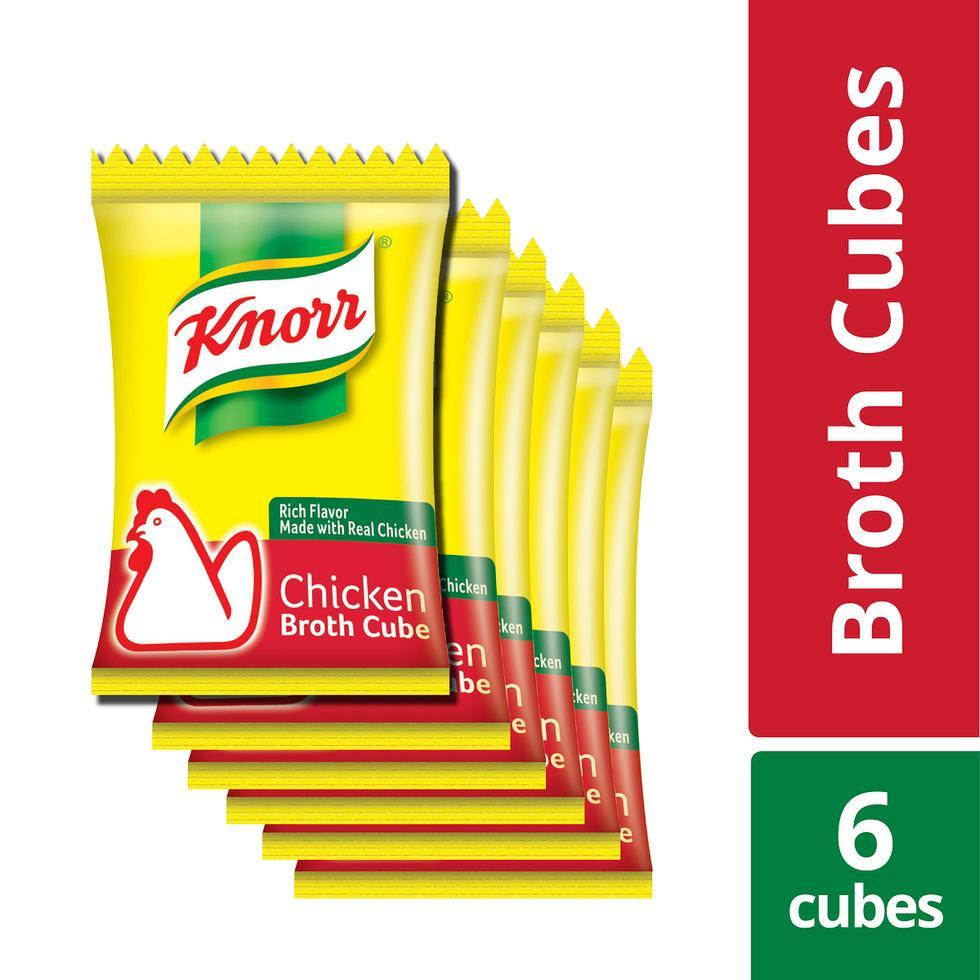 KNORR CHICKEN CUBE 10GX6'S