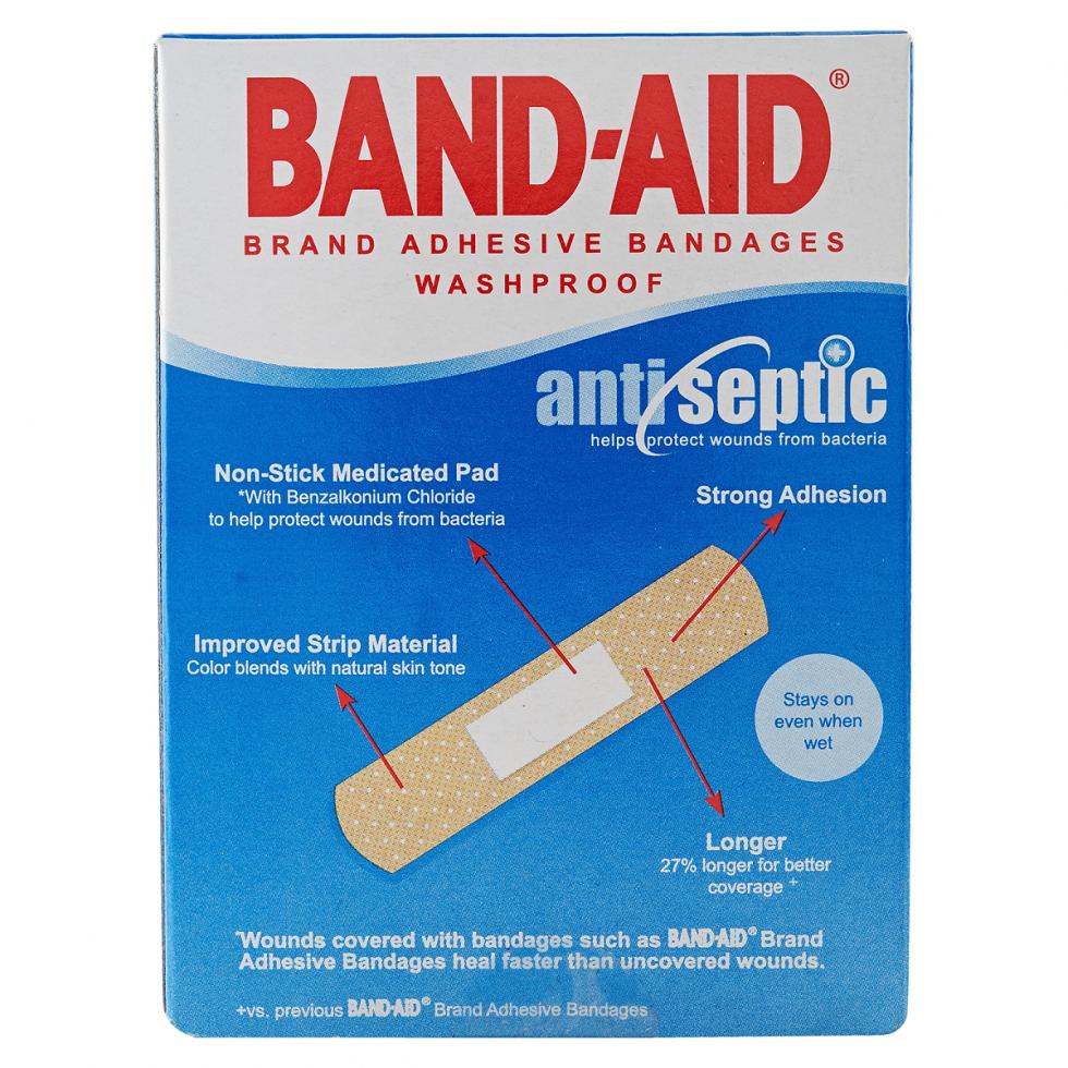 B-AID PLASTIC STRIP 50S