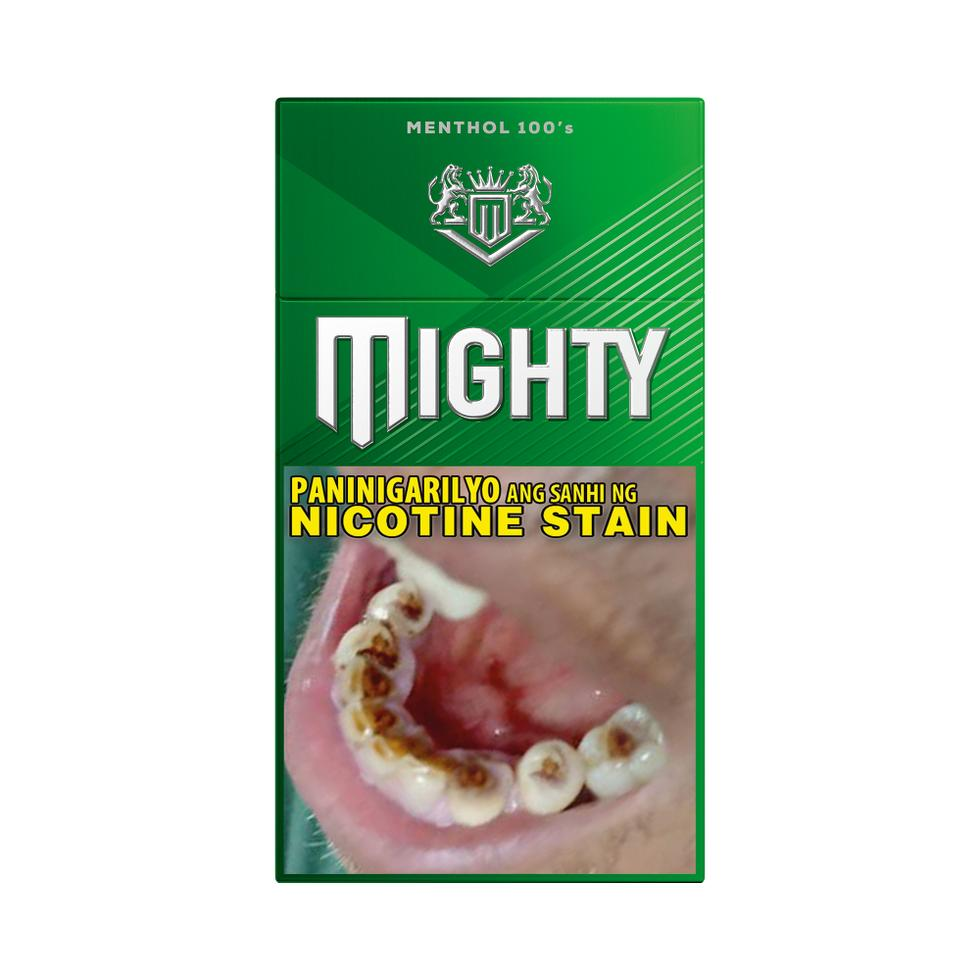 MIGHTY MENTHOL FT 20s PACK