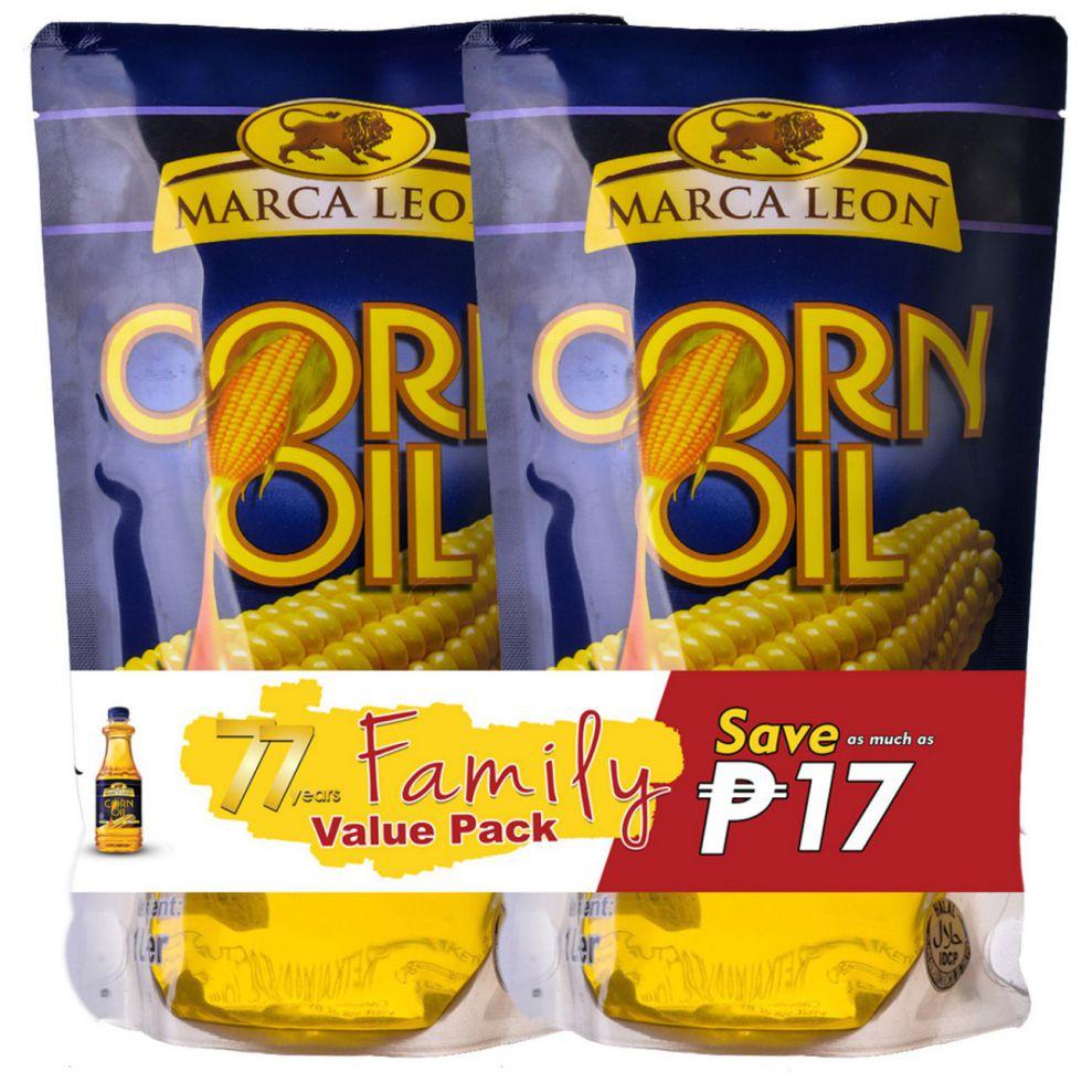 MARCA LEON CORN OIL PCH1L 2S