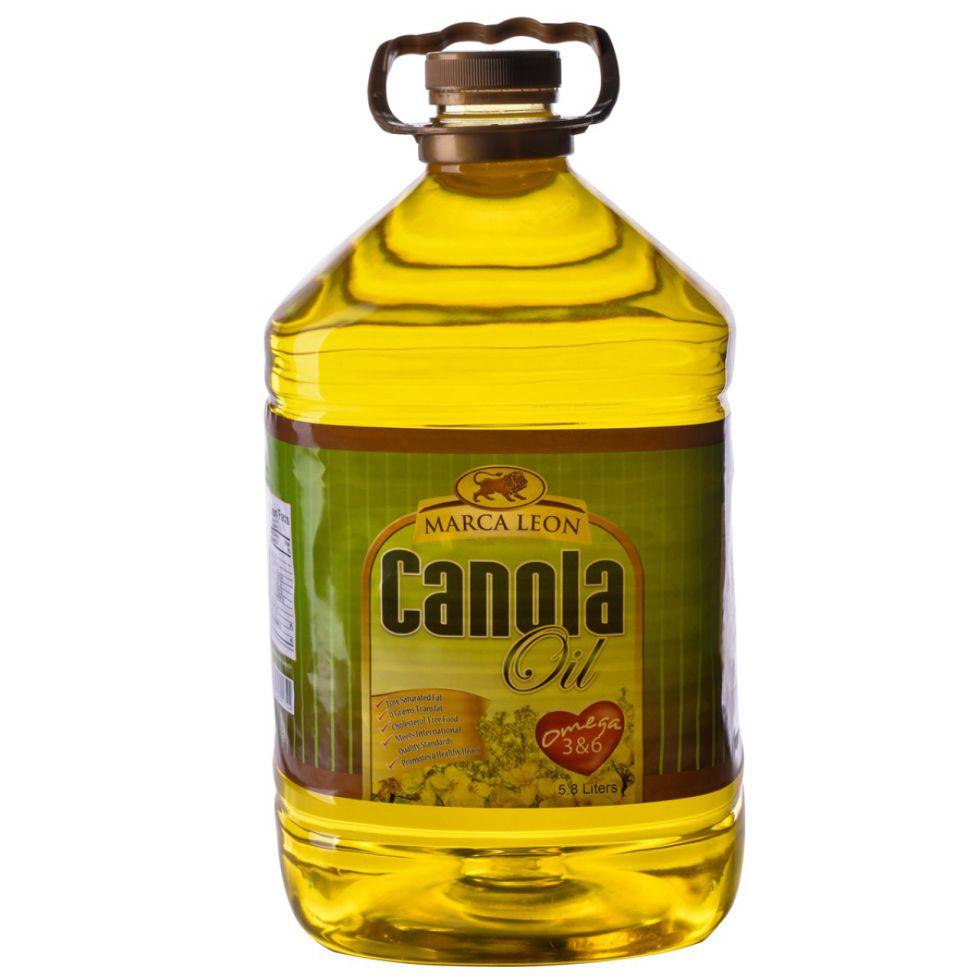 MARCA LEON CANOLA OIL5.8L PET