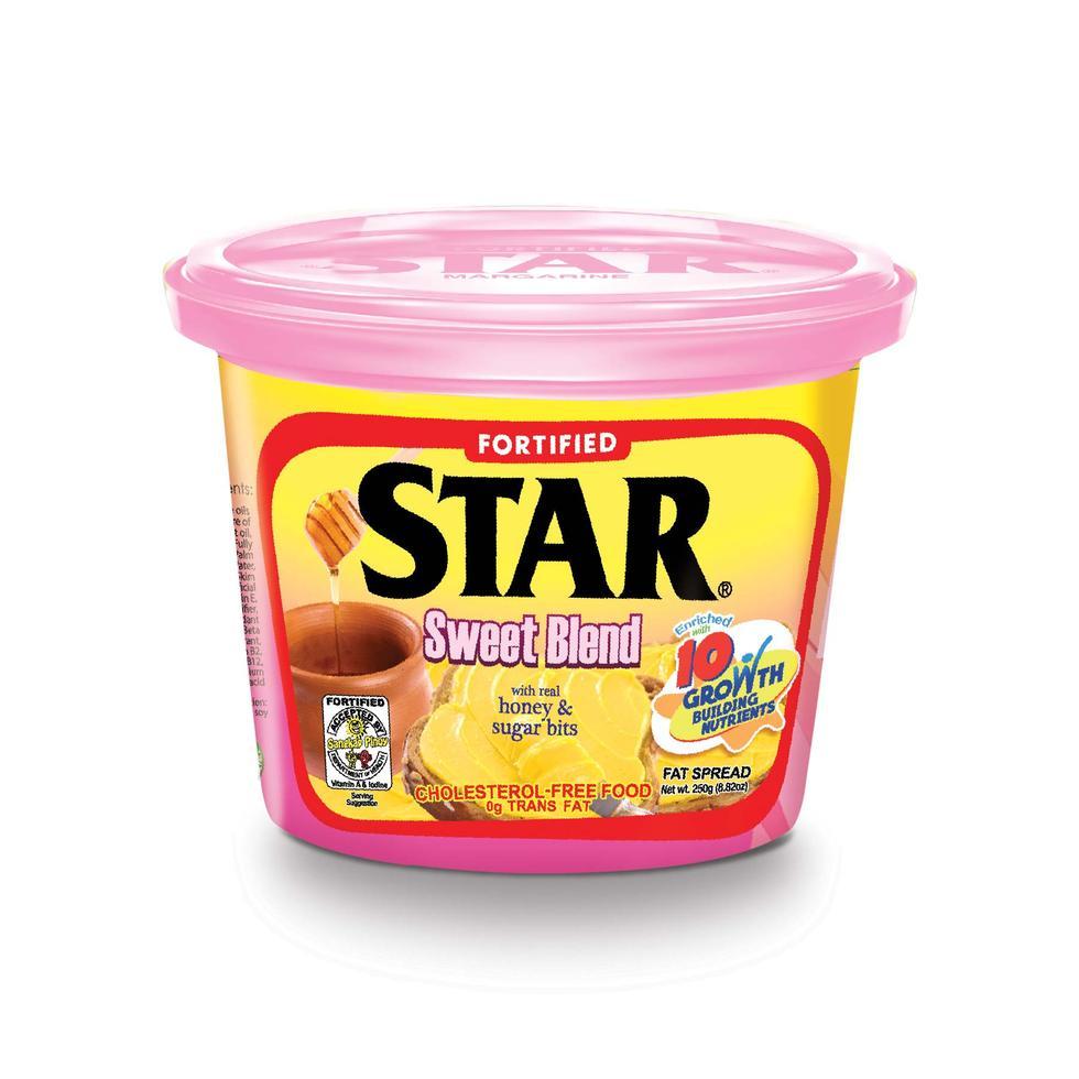 STAR MARGARINE SWEET BLEND250G