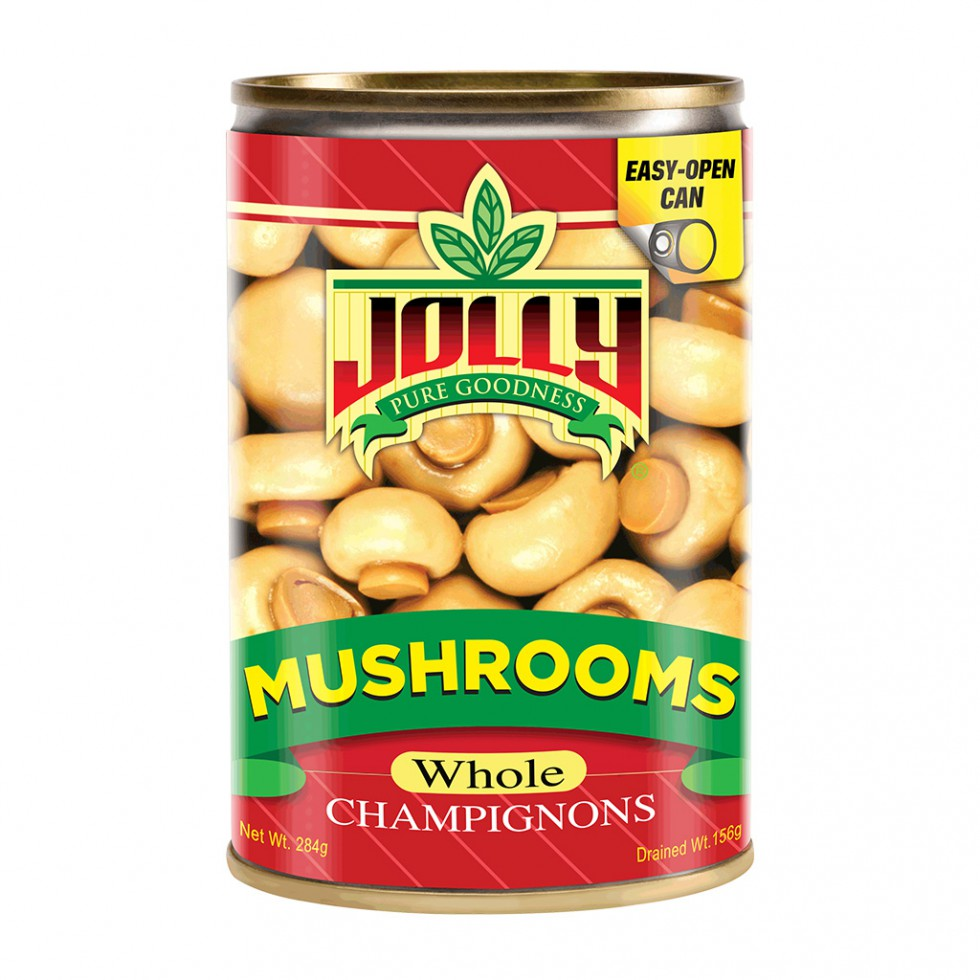 JOLLY WHOLE MUSHROOM 284G