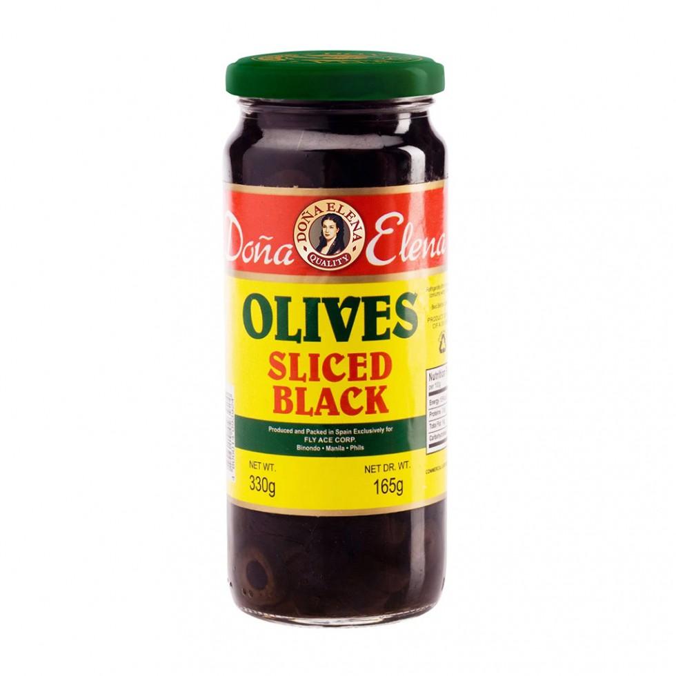 DONA ELENA SLCD BLK OLIVES330G