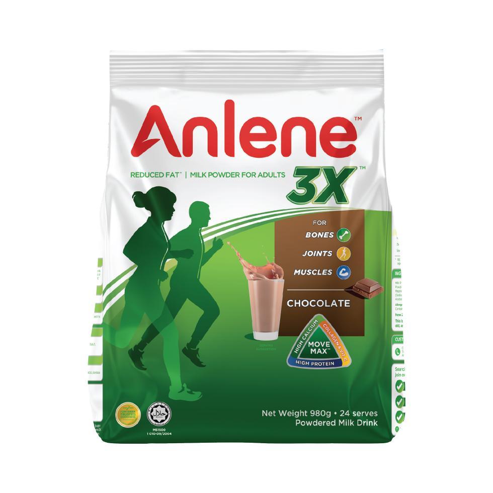ANLENE GOLD CHOCO 980G POUCH