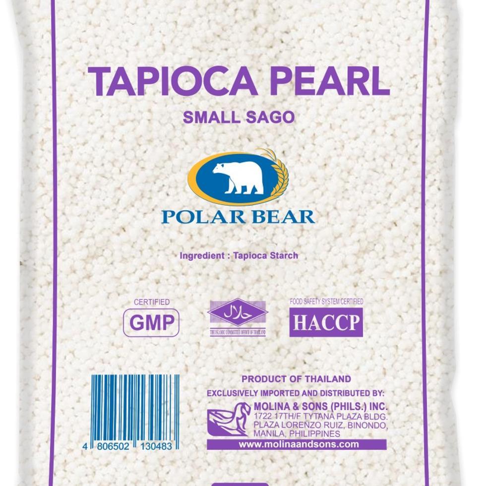 POLARBEAR TAP/PEARL SMALL 500G
