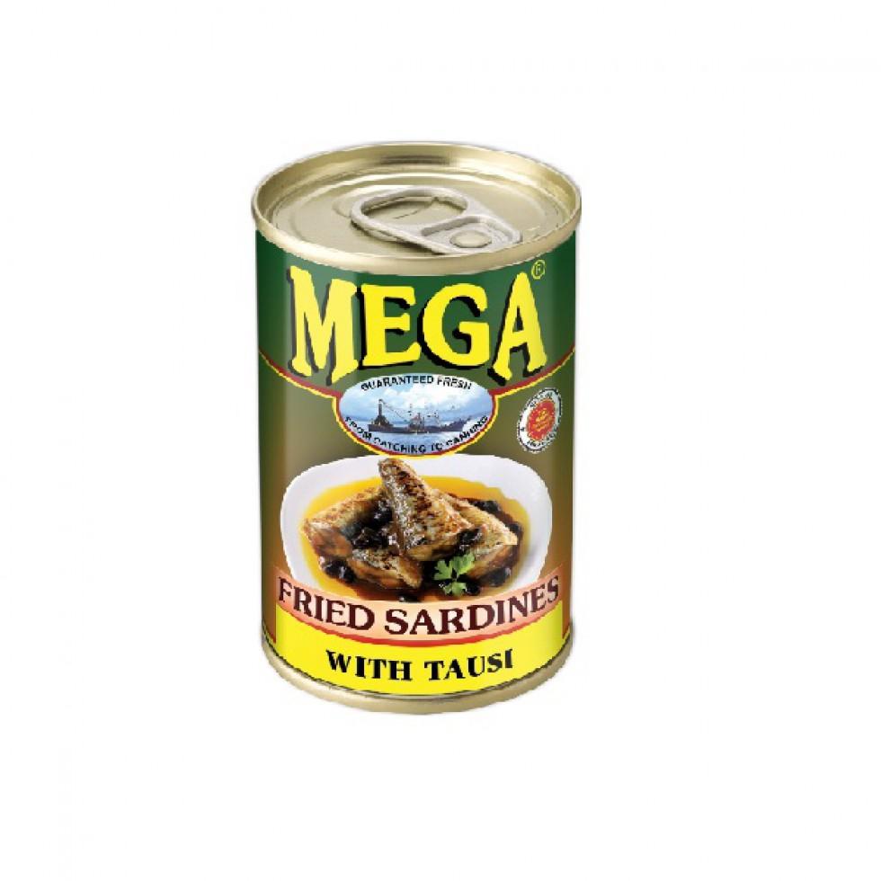 MEGA SARDINES FRIED TAUSI 155G