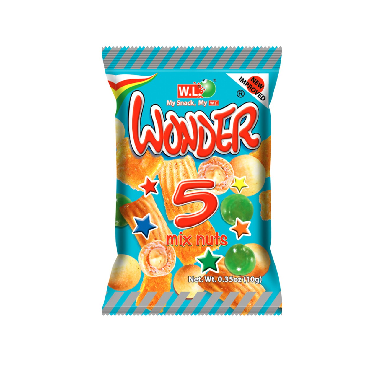 WL WONDER 5 MIX NUTS 10GX12S
