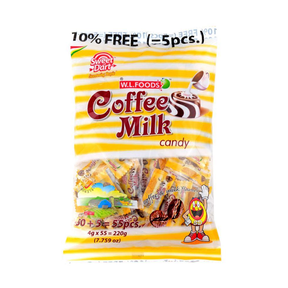 SWEET DART COFFEE MILK CNDY50S