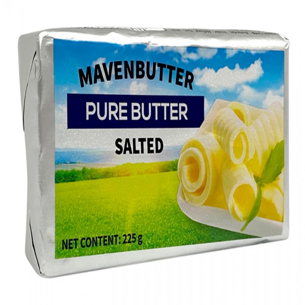 MAVEN BUTTER SALTED 225G