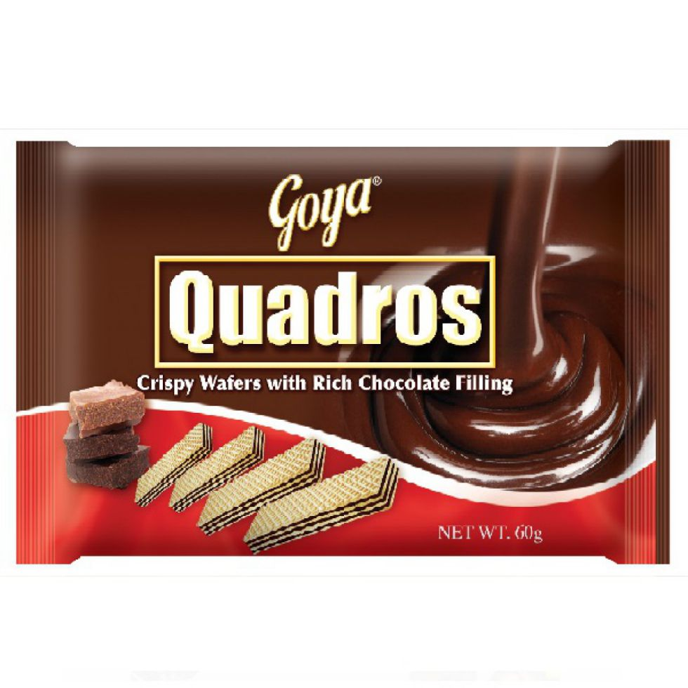 GOYA QUADROS CRISPY WAFER 60G