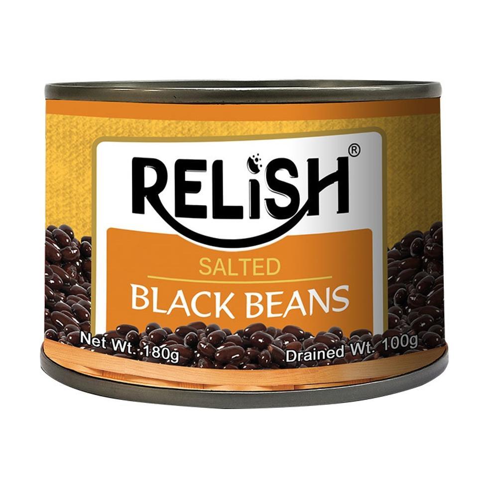 RELISH BLACK BEANS 180G