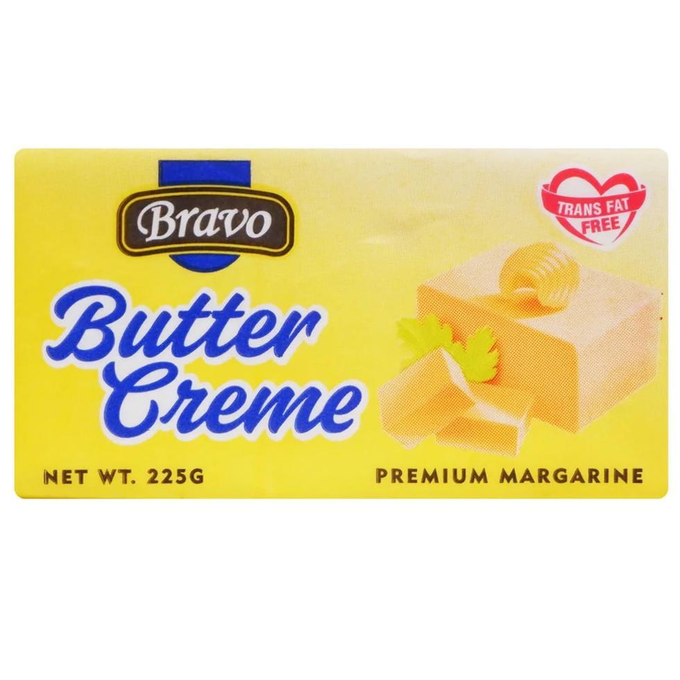 BRAVO BUTTERCREME MARGRNE 225G