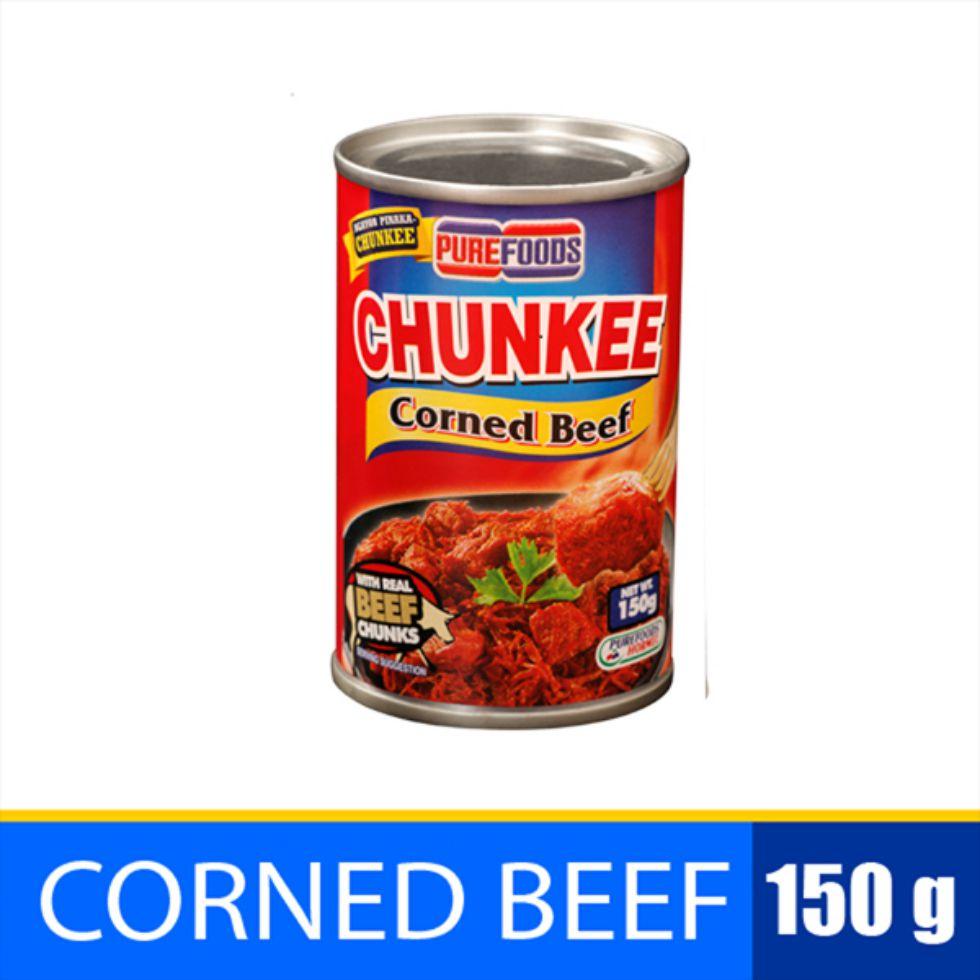PF CHUNKEE CORNED BEEF 150G