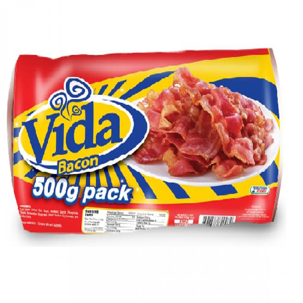 PF VIDA BACON 500G
