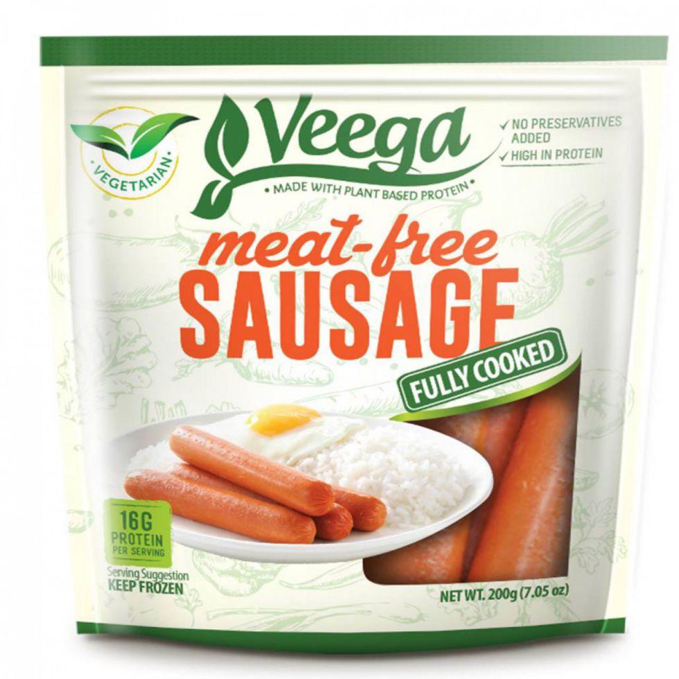 VEEGA MEAT-FREE SAUSAGES 200G