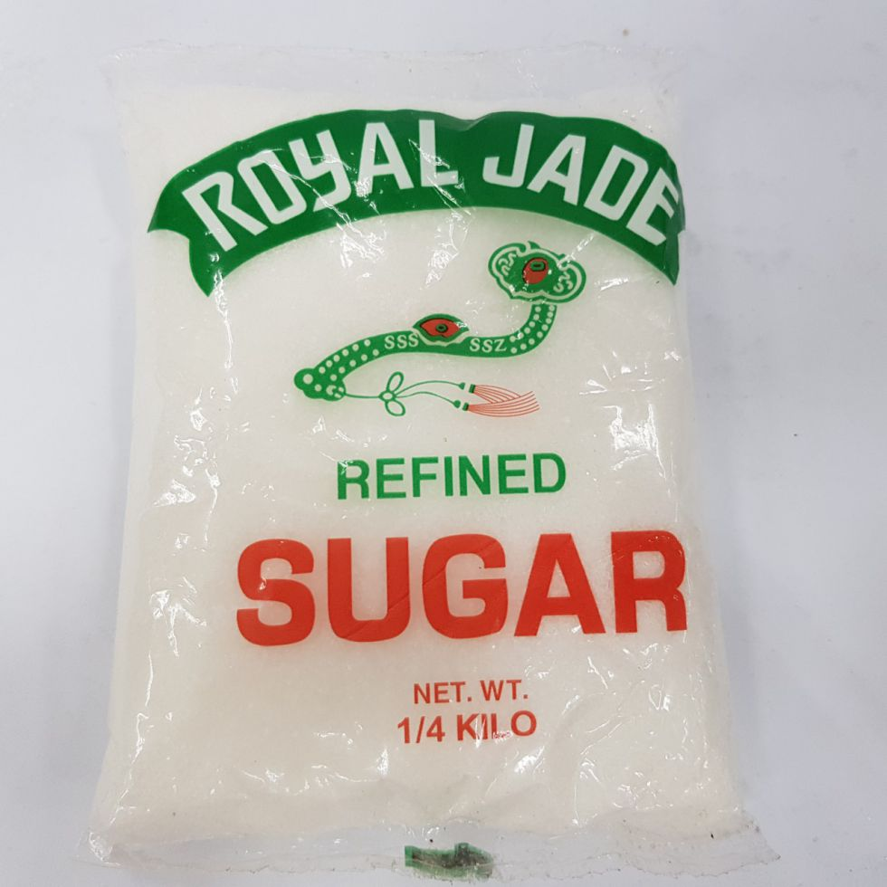 ROYAL JADE REFINED SUGAR 1/4KG