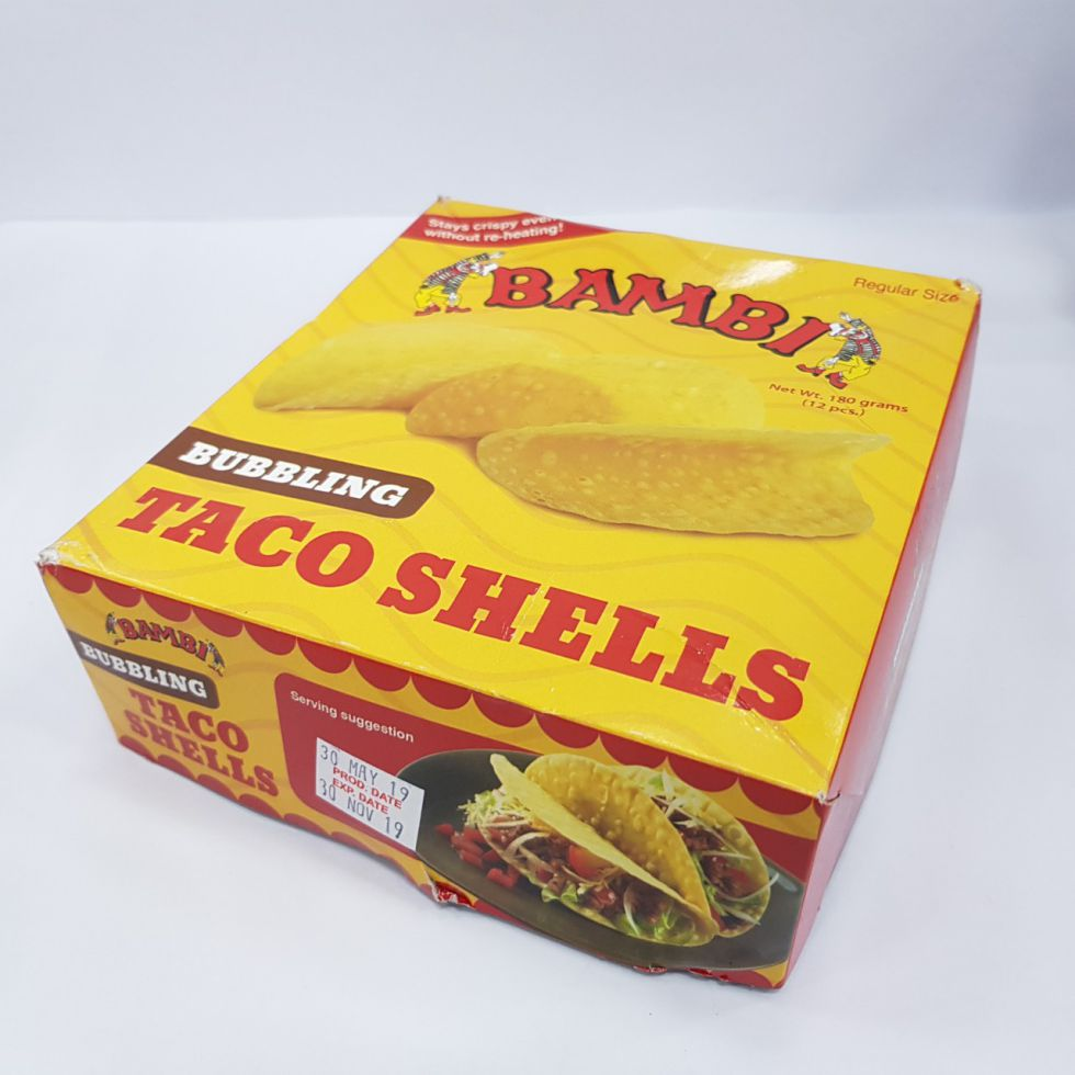 BAMBI BUBBLING TACO SHELL