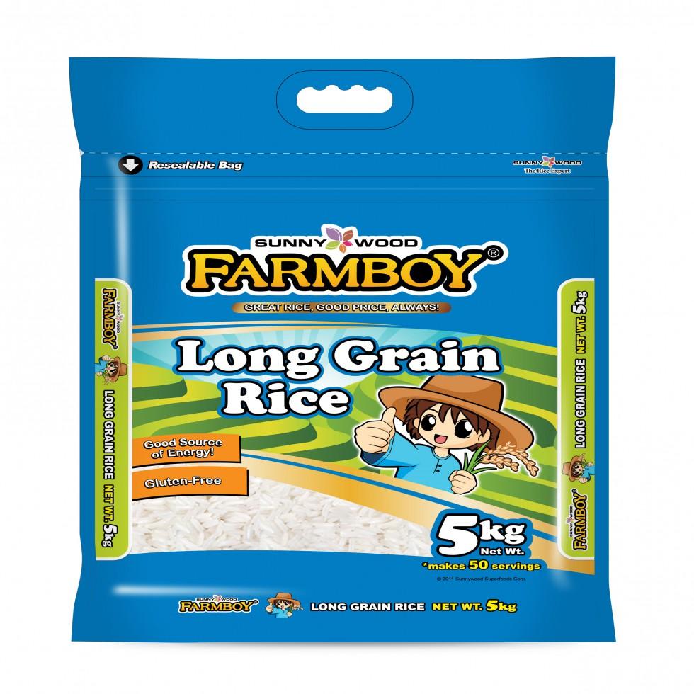 FARMBOY LONGGRAIN 5KG
